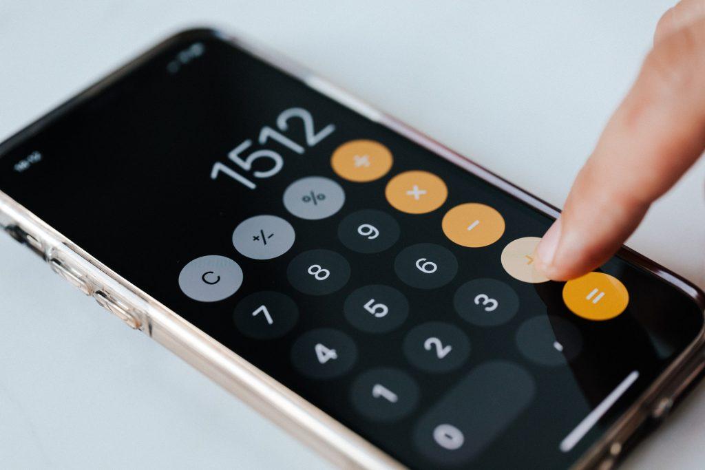 calculador do celular para comissão do corretor na venda de imóveis