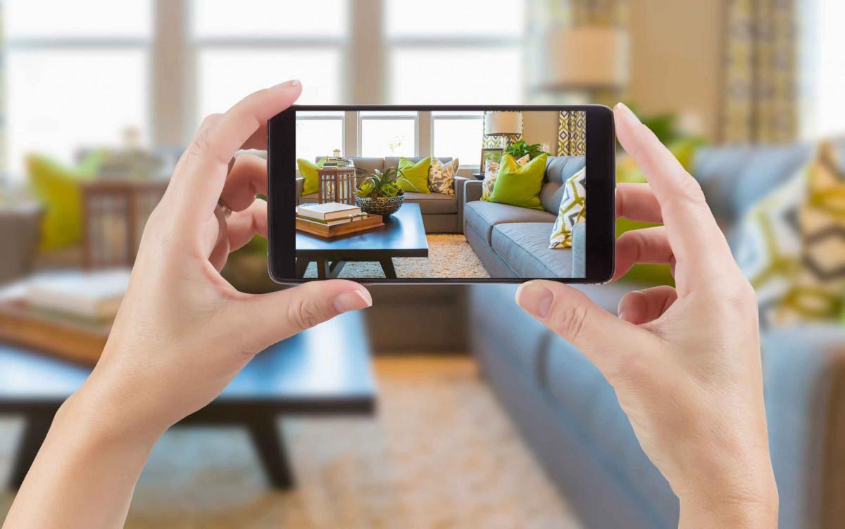fotografia imobiliária com o celular